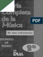 Teoría Completa de La Música Dionisio de Pedro Vol2