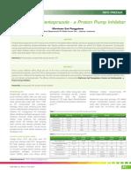 22_258Info Produk-Tinjauan Atas Pantoprazole-A Proton Pump Inhibitor