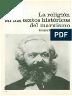 La Religión en Los Textos Históricos Del Marxismo