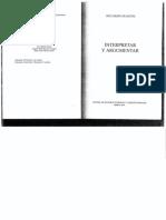Guastini Interpretar y Argumentar-Fragmento