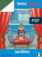 Grandmaster Opening Preparation - Jan Ehlvest - Quality Chess - 2018