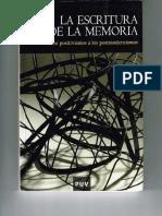 La escritura de la memoria Jaume Aurell