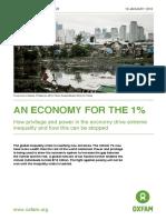 An Economy Informe Oxfam Desigualdad