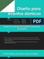 Diseño Para Eventos Sismicos