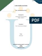 Actividad reconocimiento diseño sistemas unad