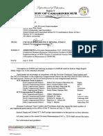 Schedule and Addendum to Division Memo 147 s. 2018 (1)