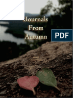 JOURNALS FROM AUTUMN essays