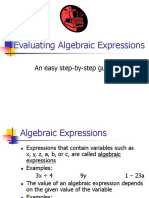 Evaluating Expressions.ppt