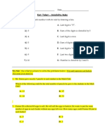 Exit ticket Divisibility rules.docx