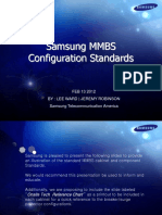 Samsung MMBS Stnd Configs. Rev 1.2.8