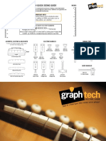 GraphTech Sizing Guides for Guitars