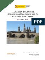 IHG (2010) Cuenca Ebro