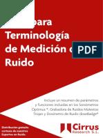 Terminos - Ruido (Db)