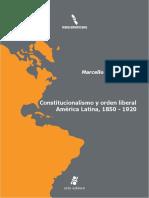 CARMAGNANI Constitucionalismo y Orden Liberal en America Latina
