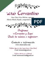 Dossier Duo Cervantino León