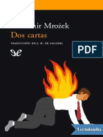Dos Cartas - Sawomir Mroek