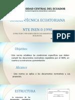 Norma Técnica Ecuatoriana