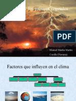 Climas y Los Paisaje Vegetales