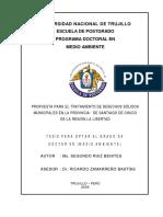 Desechos Sólidos Santiago de Chuco