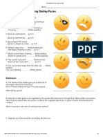 1.6.5 Dichotomous Key With Smilies