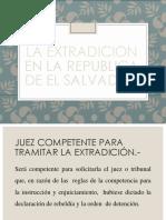 La Extradicion en La Republica de El Salvador.ppt