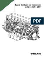 Manual para Conductores Suplemento Motores Volvo US07 -  (PV776-21100924)