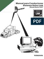Manual para Conductores Sistema Volvo Link - (PV776-21132350)