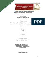 DERECHO COMERCIAL II  ACT. N° 8 matriz