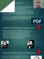 Presentacion de Seleccion de Cuentos Horacio Quiroja Resumenes de Cuento