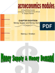 Ch18 Money Supply and Money Demand