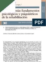 Esquizofrenia - Fundamentos Psicologicos y Psiquiatricos de La Rehbilitacion - Jose Antonio Aldaz y Carmelo Vazquez