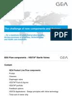 El Desafio de Los Nuevos Componentes y Diseños Para Plantas Higiénicas