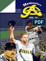 Aguilas Campeonas 2002 03
