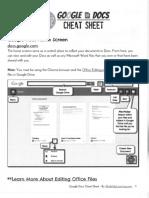 Google Docs Handout
