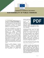 European Semester Thematic Factsheet Public Finance Sustainability En