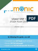Picmonic Step 1 Study Guide