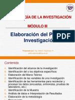 Modulo 3 Elaboracion Del Plan de Investigacion