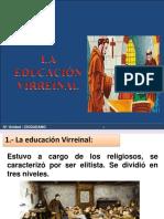 EDUCACION VIRREYNAL