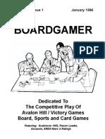 Boardgamer v1n1
