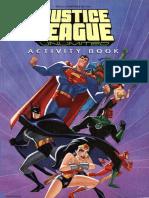 Justice League Activity Book