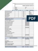 Formato Inspeccion de Vehiculo BUENO