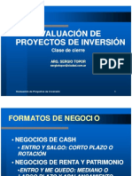 Cierre Proyectos de Inversion 2010