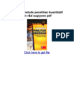Download Metode Penelitian Kuantitatif Kualitatif Dan r&d Sugiyono PDF