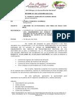 Informe 001-2018 Almacenero
