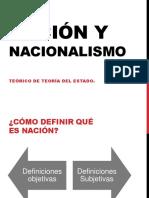 Nación y Nacionalismo Teorico