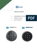 Cerradura Digital Combo Gard