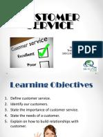 Customer Service JB