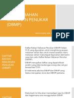 Daftar Bahan Makanan Penukar (Dbmp)
