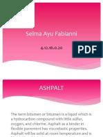 Selma Ayu Fabianni PPT B ING
