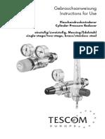 5.13.2 Tescom Cylinder Pressure Reducer